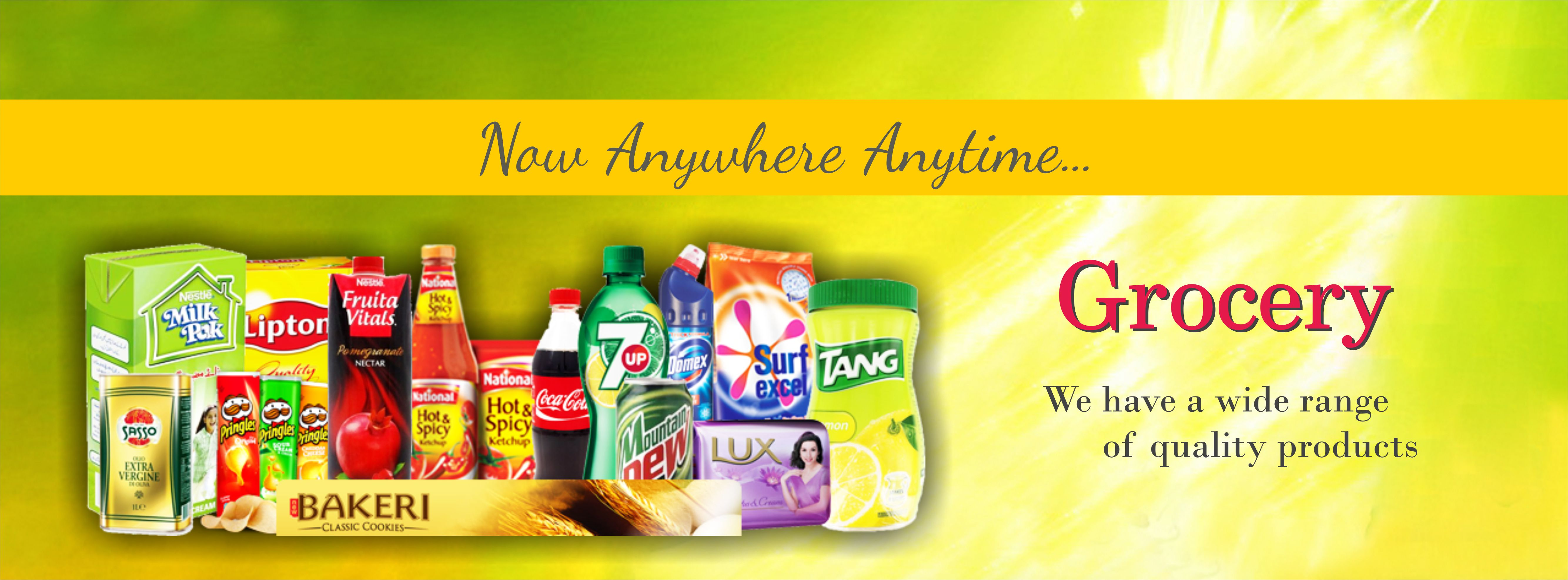 Kitchen Store Products Banner